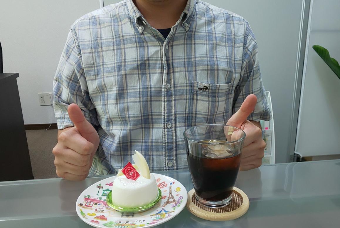 ケーキ大好き