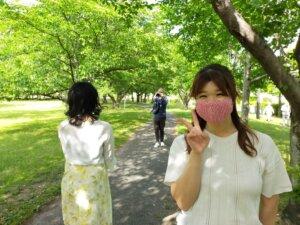 またまた癒し系美人がハピネスの仲間入りです。佐賀市石井樋公園でプロフィール写真撮...